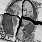 Broken Dollar Bill